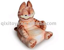 pink plush stuffed animal cat toy sofa