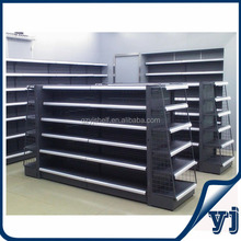 Small market equipment supermarket layout design, mini mart shelving system commercial 6 tier shelf adjustable steel wire metall