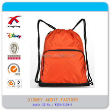 super light backpack simple storage bag nylon pouch backpack