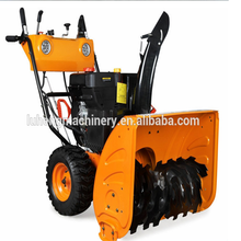 Promotion!!!!11hp electric start tyre snow blower for sale