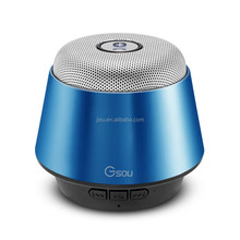 Hand-free calling 5W Portable Wireless Bluetooth Mini USB Car Speaker with 500mAh Li-battery