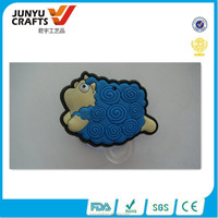 Custom Cheap plastic 2D soft pvc rubber fridge magnet
