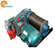 Electric cable pulling winch 220 volt electric winch 2000kg