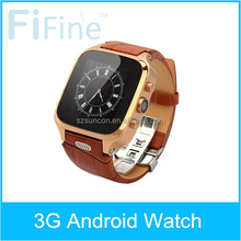 Android 4.4 Wifi GSM bluetooth 4.0 3G AGPS/GPS 300W Camera Dual core latest wrist watch mobile phone