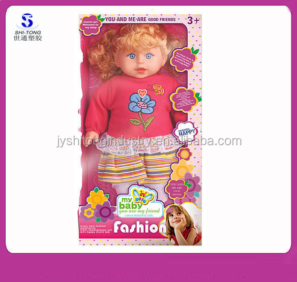 2016 New Lovely Baby Doll Toy Fashinable Sweet Doll Models Wholesale Doll Supplies
