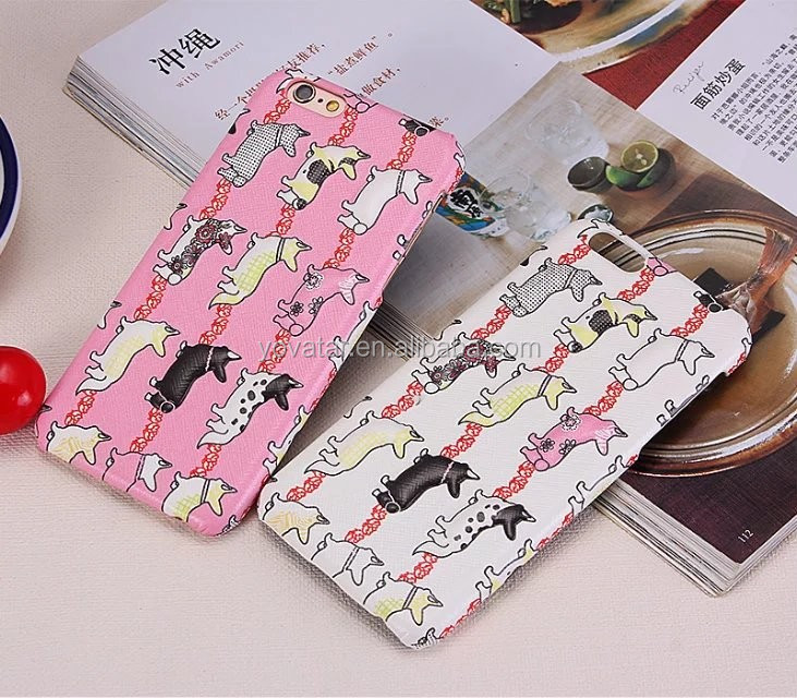 Stereo cute dog pattern drop resistance phone case for iPhone6/6s/6plus case