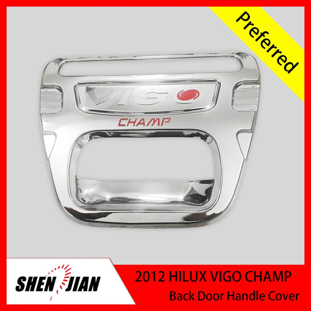 Exterior Accessories chrome door handle for 2012 Vigo Champ Stainless Steel door Sill roll bar hilux