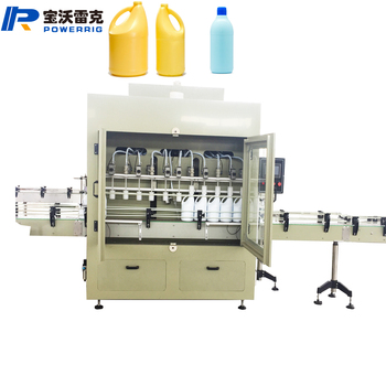 Agricultural Chemical filling and bottling capping machines production line for chemical pesticide product