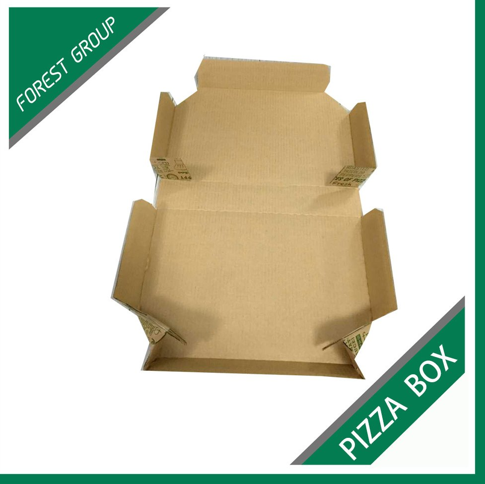BEST PRICE GREEN RECYCLABLE CORRUGATED CARTON BOX CARTON PIZZA BOX