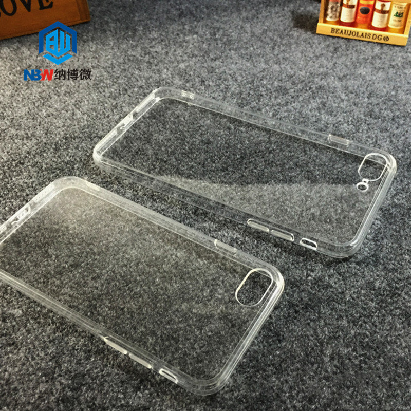 Wholesale Transparent Clear TPU PC Back Phone Cover Soft Silicone Phone Case For iphone X Case For iPhone Cases