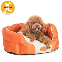 Waterproof Round Shape Pet Dog Bed Cushion For Pet