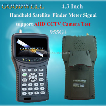 "Wholesale 4.3"" Satellite Finder Meter Signal support AHD CCTV Camera Signal Test ,Display AHD Pictures"