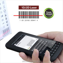 "IP65 Rugged industrial Laser Barcode scanner phone with 3.8"" touch screen,4000mAh battery,CE certification"