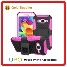 [UPO] Heavy Duty Tough Shockproof Case for Samsung Galaxy Core Prime, Stand Hard Back Cover Case for Samsung Galaxy G360