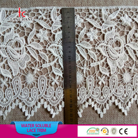22cm new design water soluble cotton lace trimming cotton crochet lace trim chemical lace trim SRTM96