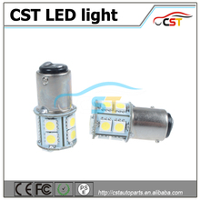 2016 China supplier car led tuning light 12v , 1156/7 13SMD 5050 auto led bulb, s25 led car light 12v