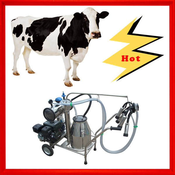 Gasoline vacuum automatic milking systems