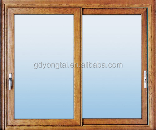 Aluminium Double Glaze sliding Windows with top quality manufacturer in Foshan