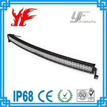 Factory direct sell ip68 waterproof 50 inch 288w 4x4 offroad atv led curve light bar