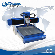 High quality strong mini cnc router 6060 / table move 3d cnc router 6060