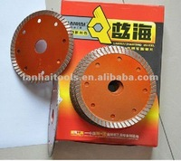 "4"" turbo rim Ultra thin saw blade for cutting granite, marble and ceramic cutting tools"
