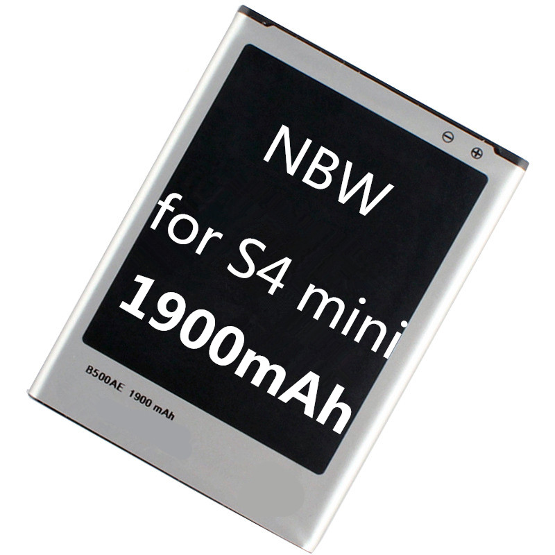 Original Mobile Phone Battery for Samsung Galaxy S4 Mini GT i9190 i9195 B500BE 1900mAh