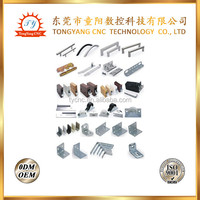 Precision custom made, CNC machine parts, CNC lamp metal accessories for wholesale