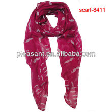 mustache printed scarve for sale