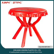 High Quality Durable Using Various Plastic Folding dining Table