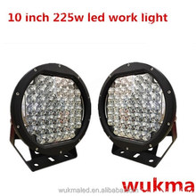 Newest super bright 225w Led Work light, 10 inch 225w led driving lights