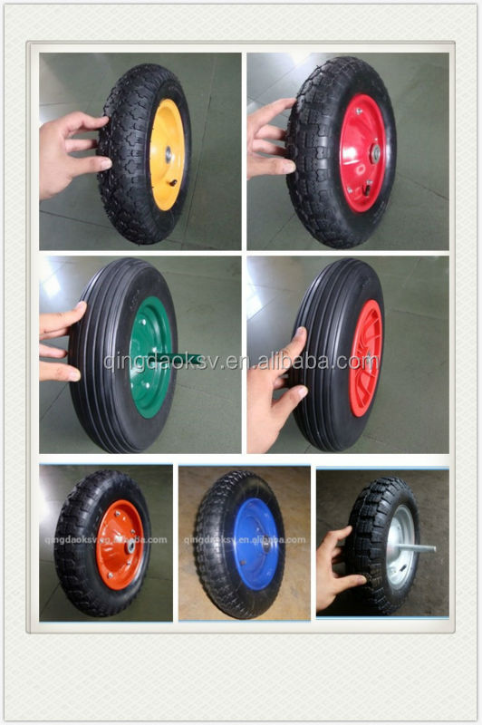 Qingdao wholesale products 13*3 solid wheel