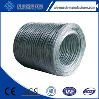 High tensile and yield strength galvanized steel wire with Free Sample