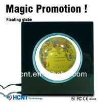 New Invention ! Magic Globe ! electromagnetic suspending turning globes with light