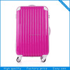 ABS wheeled travelling suit case bag set/ traveller bag