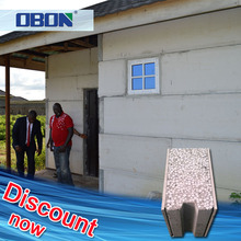 OBON replace brick precast concrete foam cement wall panel exterior 120mm