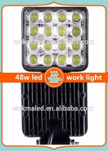 led driving light 48w led work light 12v led high power lights For 4x4 offroad suv RV Atv Jee-p 4wd truck