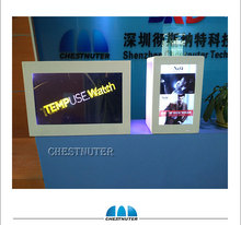 From china most popular product cheap price custom lcd screen advertising media player transparent lcd display