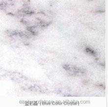 Blue Color Crystal Marble