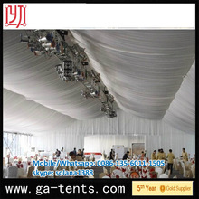 QINGDAO Hot sale 25m tendas with 2m Extension Eave, Water Proof Tents, Fire Proof Tents
