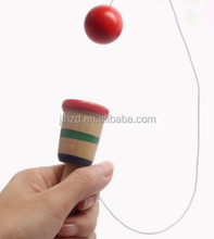 Creative Educational Coordination Game Sword Ball Skills Wooden Skill Toy Kids Cup Of Hand-eye Coordination Toy