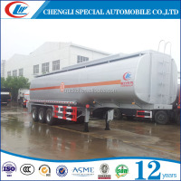 45cbm 50cbm 55cbm fule tank trailers 3 or4 axles50CBM fuel tanker trailer/crude oil tank Popular in Africa and Mid east