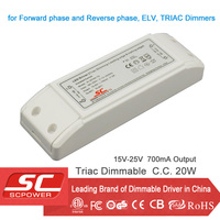 KI-25700-TD triac dimmable constant current 17W 700mA LED Driver
