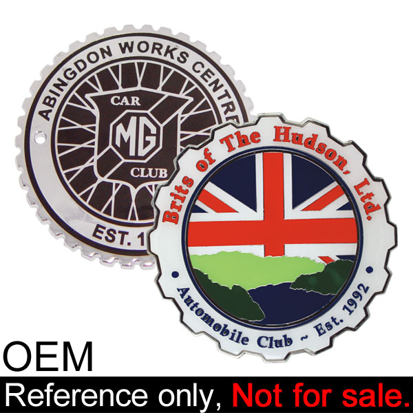 china supplier masonic car emblem