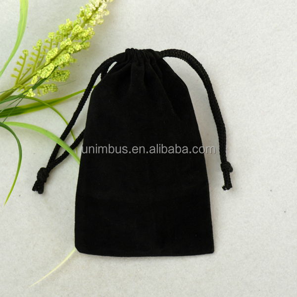 Order From China Direct Velvet Drawstring Bags