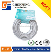 mineral pvc insulated 300m rg6 coaxial cable