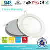 Promotion panel 6w ceiling panel round square led flat panel light