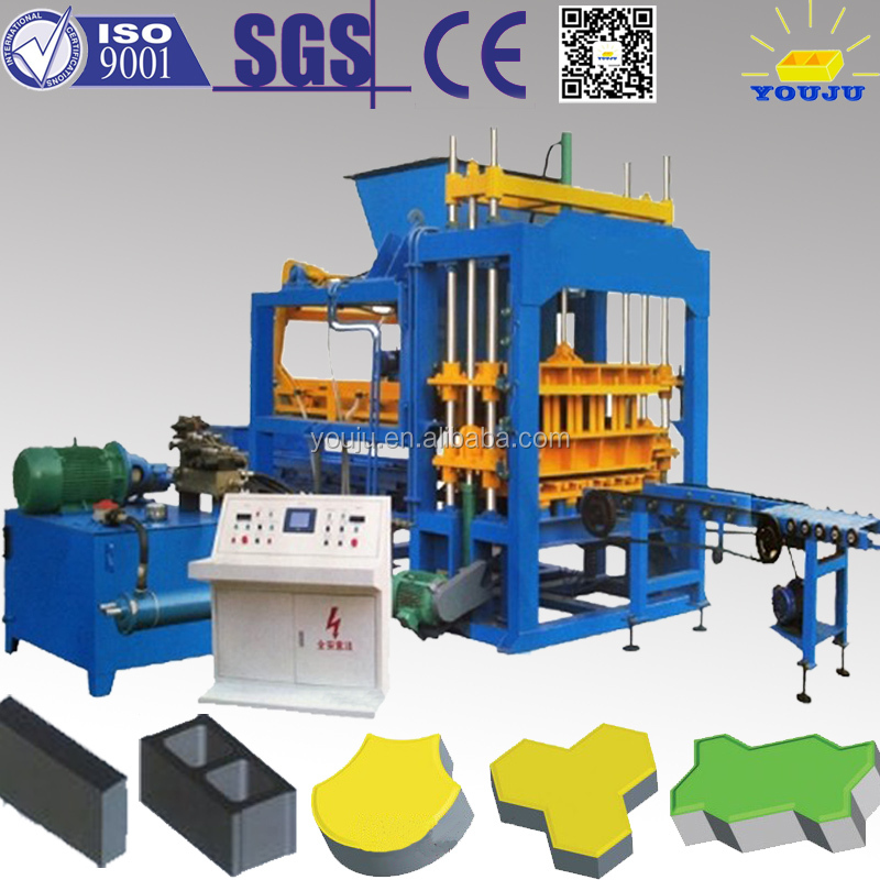 China top quality Best selling innovation new products automatic QT5-15 brick machines