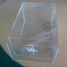 transparent acrylic sneaker box, clear acrylic shoe display box, acrylic recipe box wholesale