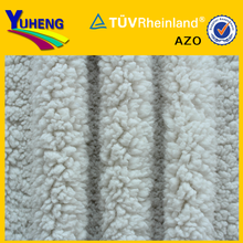 Knitted 100 Polyester Shoe Lining,100% Polyester Sheep Fur Suit Lining