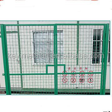 Wire Fence Panel Gate hot dipped galvanized horse panels /metal livestock field farm fence gate for cattle or horse